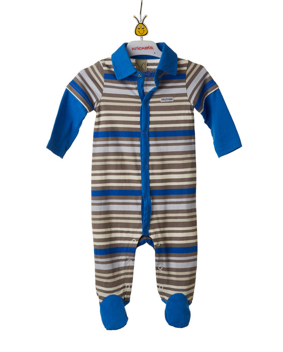 Baby Boys Striped Playsuit