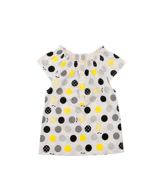 Girls Polka Dot Top