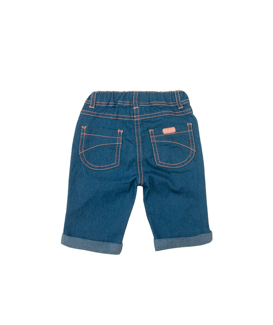 Girls Denim Capri Pants