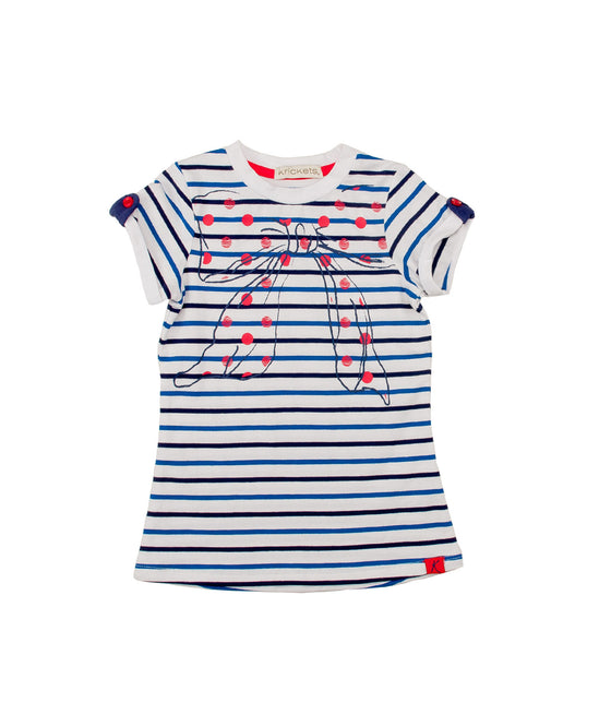 Girls Striped Long Top