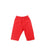 Girls Red Clam Leggings