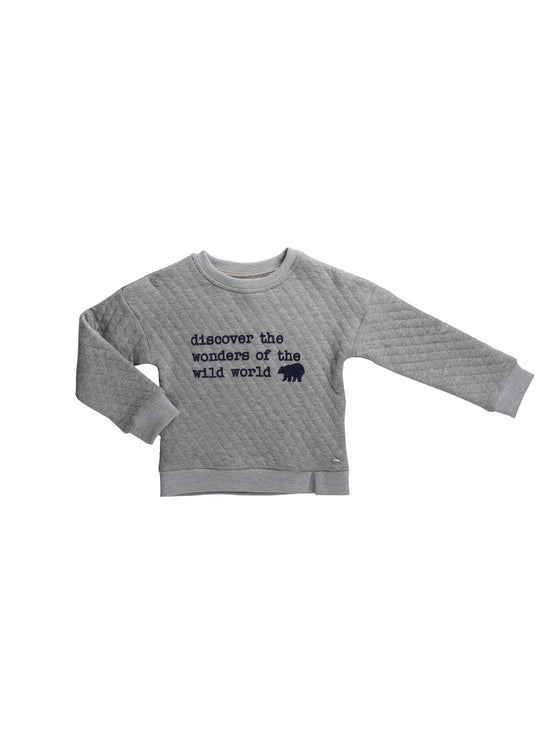 Boys long-sleeved pull-over top
