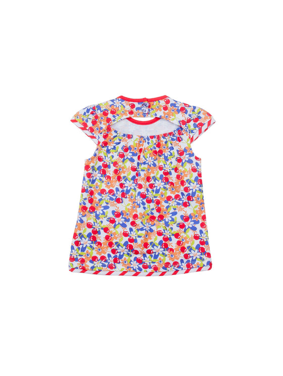 Girls Printed Long Top