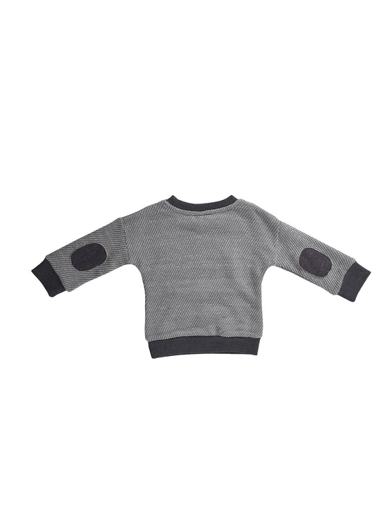 Boys long-sleeve pull-over top