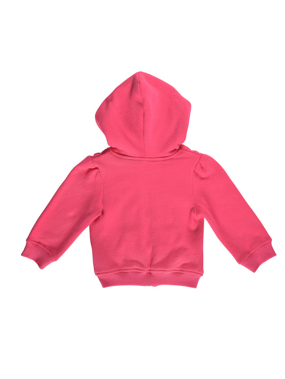 Girls long-sleeve hooded top