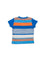 Boys Striped 3-Button Top