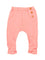 Girls Coral jersey clam with button placket detail