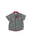 Boys Casual Grey Chambray Shirt