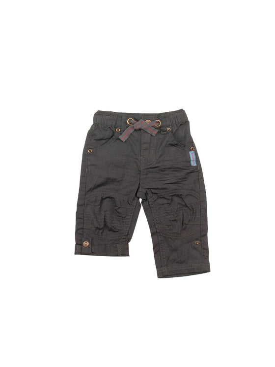 Boys Rolled Up Poplin Pants