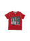 Boys Jersey Red T-Shirt w/Screen Print