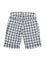 Boys Grey woven check clam