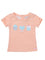 Baby Girls short sleeve t-shirt with front print & tab at sleeve