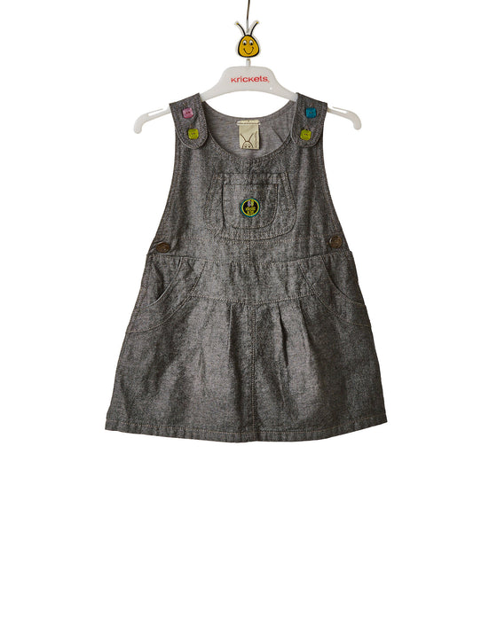 Girls Chambray Jumper