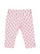 Girls All over print Cotton Candy jersey capri with contrast button detail