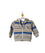 Baby Boys Striped Fleece Hoodie