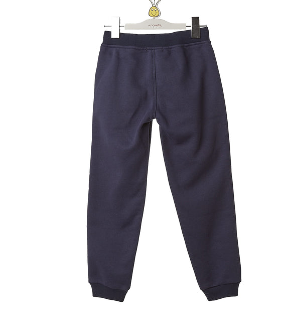 Boys Blue Fleece Pant