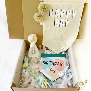 BIRTHDAY BOX | Aqua Boy