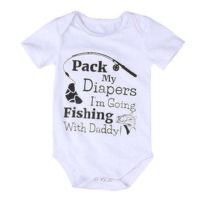 Fishing With Daddy Bodysuit