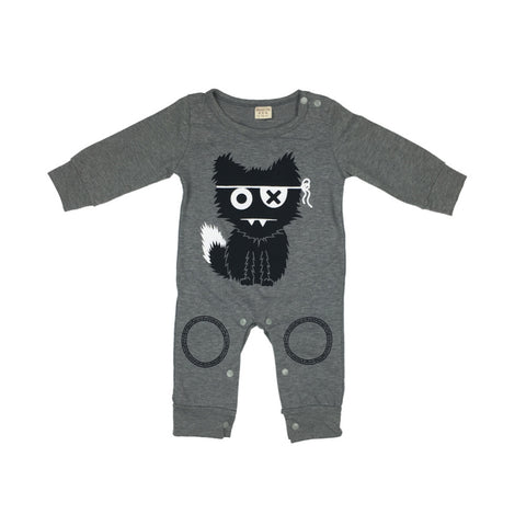 Cartoon Cat Romper