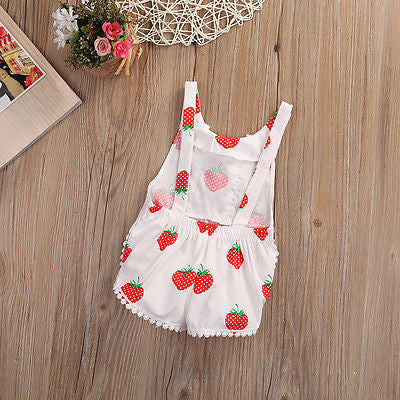Cute Strawberry Outfit