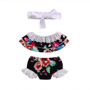 Wilma Floral Set