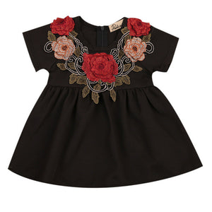Tutu Big Flower Dress