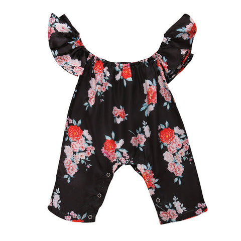 Kimberly Floral Romper