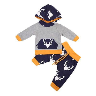 Deer Hooded Set