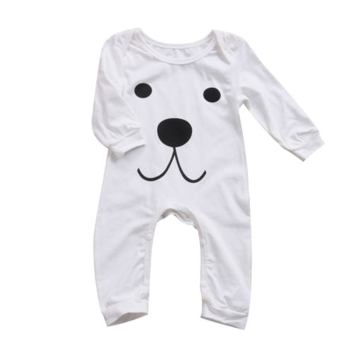 Bear Face Romper