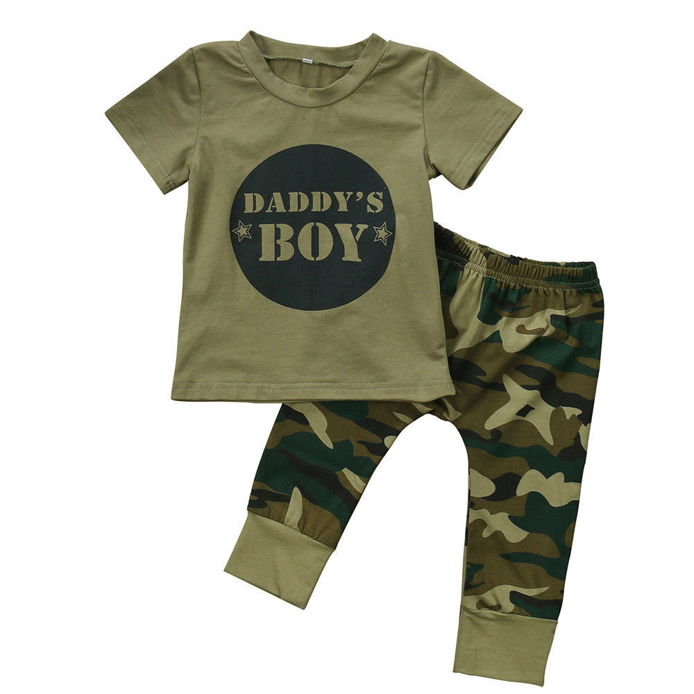 Daddy's Boy Camouflage Set