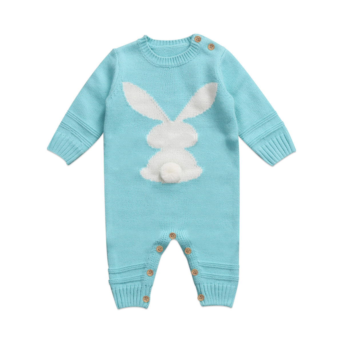 Winter Rabbit Romper