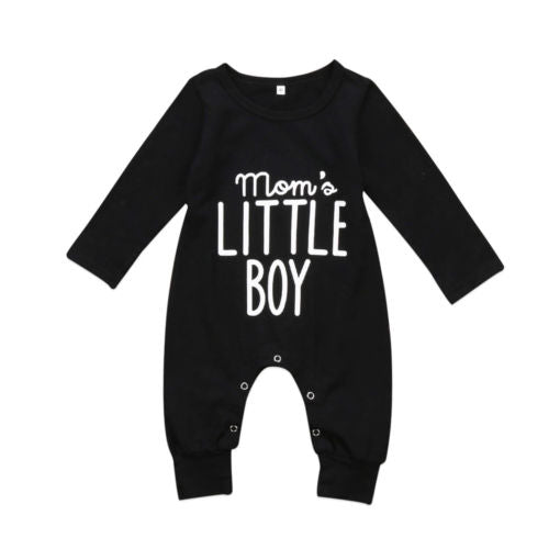 Mom Little Boy Romper