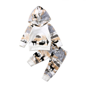 Ken Deer Hooded Set