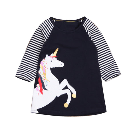 Adela Unicorn Dress