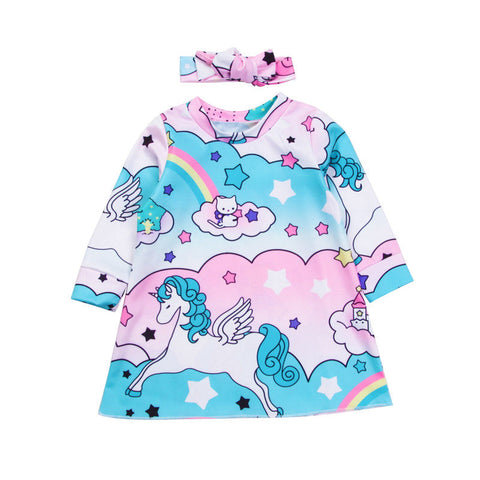 Rainbow Unicorn Set