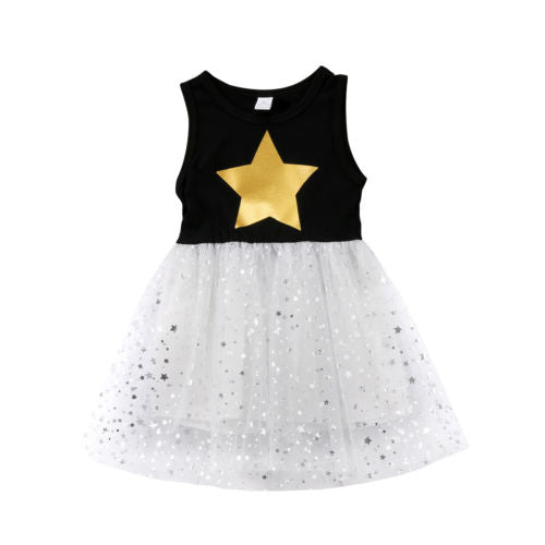 Golden Star Dress