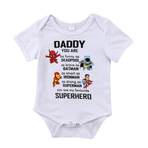 Daddy Superhero Bodysuit