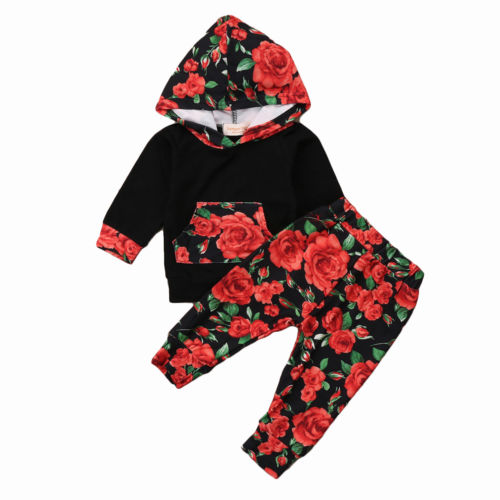 Rose Hooded Set