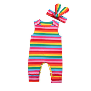 Colorful Striped Set
