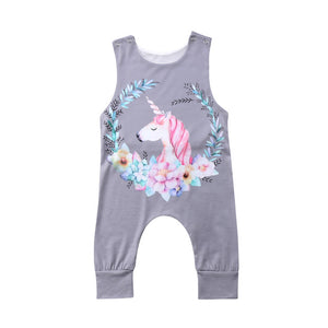 Lowelle Unicorn Romper