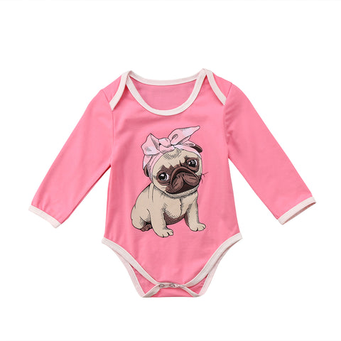 Pug Puppy Bodysuit