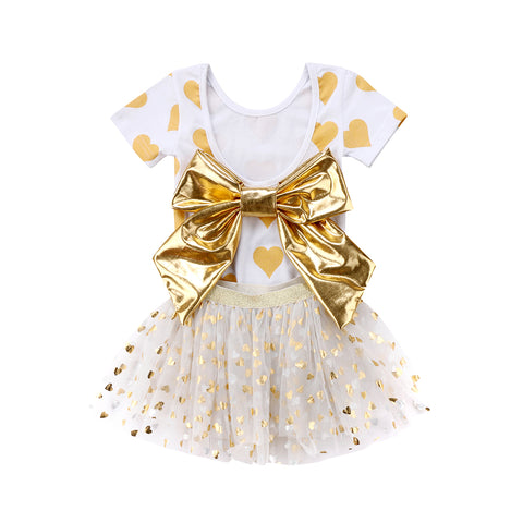 Golden Ribbon Set