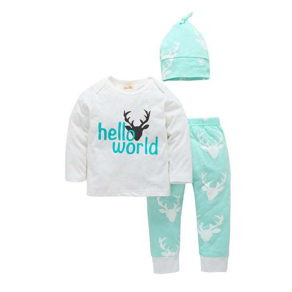 Hello World Deer Set