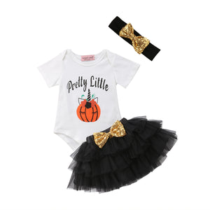 Unicorn Pumpkin Set - Black
