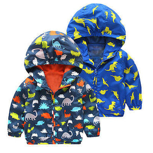 Dinosaur Hooded Coat