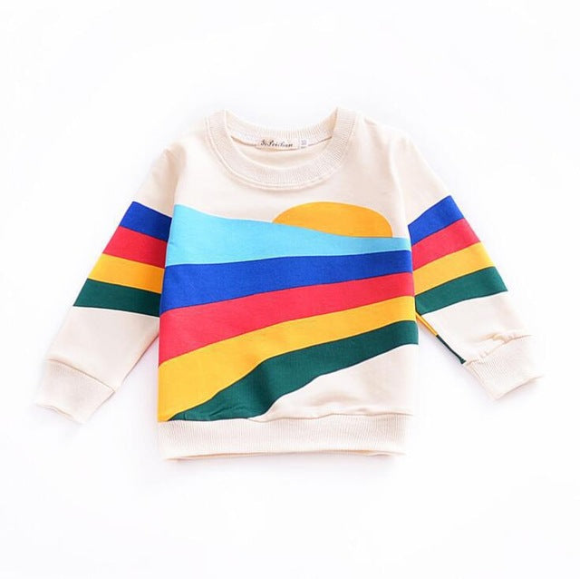 Sun and Rainbow Sweatshirt