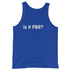 Is It PBR? - Green Screen Apparel Tank Top