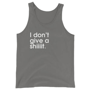 I Don't Give A Shiiiit. - Green Screen Apparel Tank Top