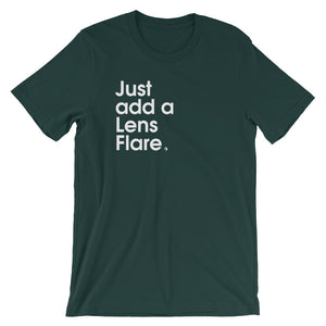 Just Add A Lens Flare - Green Screen Apparel T-Shirt