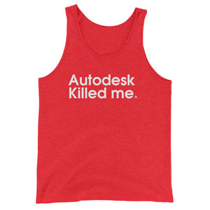 Autodesk Killed Me - Green Screen Apparel Tank Top